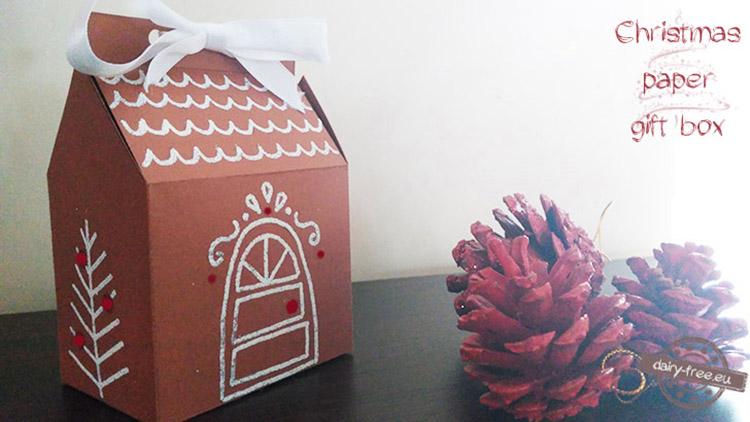 b2bef702657c Χριστουγεννιάτικα χάρτινα σπιτάκια - Dairy-free